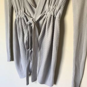 Anthropologie Sweaters - Anthropologie | Sparrow Tie Front Cardigan